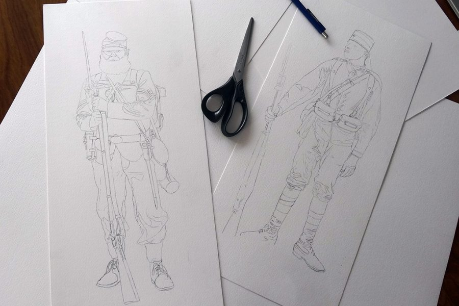 On the drawing board