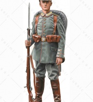 German guard grenadier, 1914